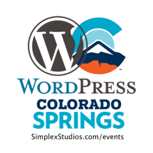 Colorado Springs WordPress Events