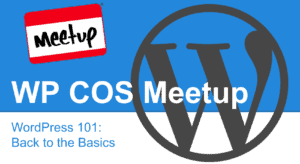 WordPress Colorado Springs Meetup