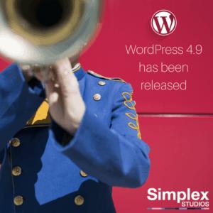 WordPress 4.9 - Simplex Studios