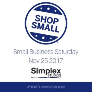 Small Business Saturday Simplex Studios Colorado Springs
