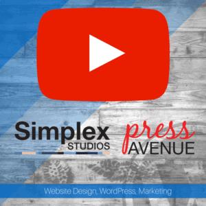 Join Us on YouTube Simplex Studios & Press Avenue