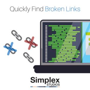 Broken Link Finder - Check My Links Simplex Studios