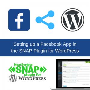 Setup Facebook App Social Media Autoposter SNAP