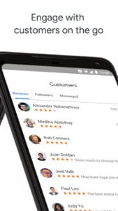 Google My Business - Updated App enage-customers-on-the-go