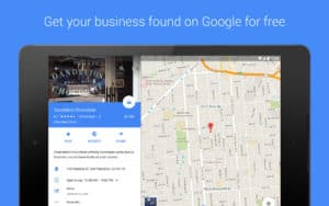 Google My Business - Updated App get found on google free