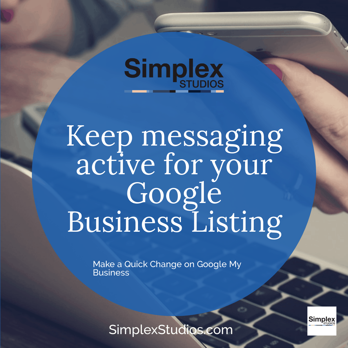 Keep Messaging Active on Google My Business