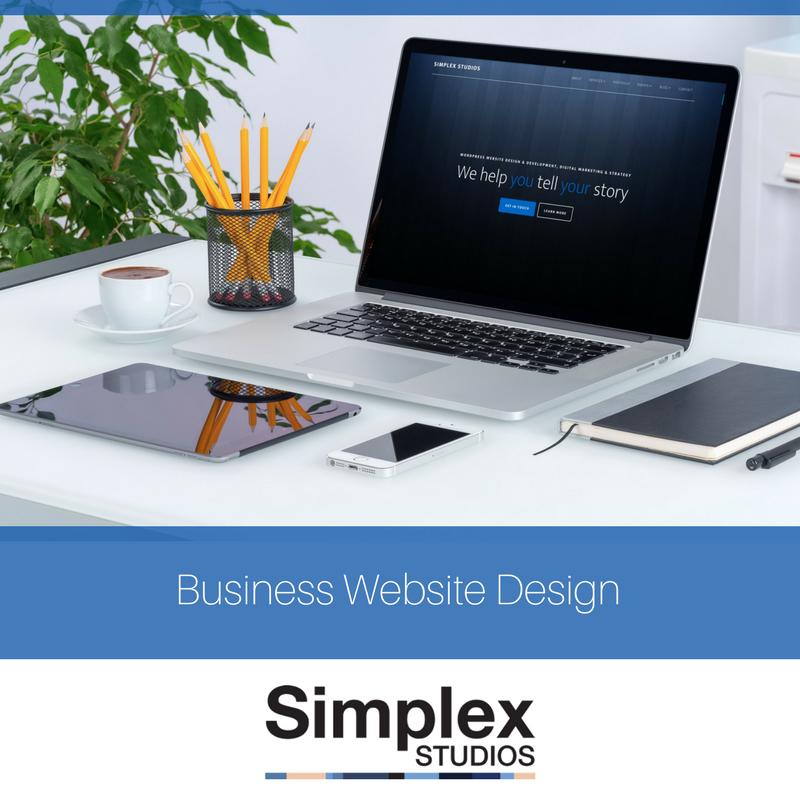 Business Websites Design - Simplex Studios